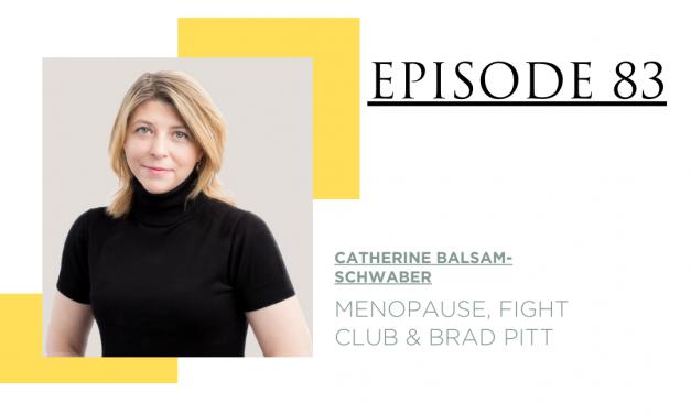 Menopause, Fight Club and Brad Pitt